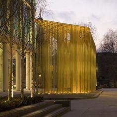 Regent's Place Pavilion by Carmody Groarke - Dezeen