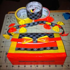 A cautionary tale of plaid by DuckTapeAndDerby on Etsy, $10.00
