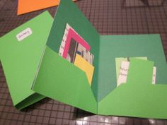 AG pocket folder finished and other school supplies