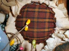 DIY fall tattered sunflower tutorial .. would be cute as bowl fillers!