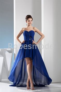 Robe de soirée bleue