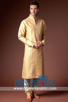 Style DRM1559 - DRM1559, Amir Adnan Kurta 2013 Collection, Amir Adnan EID Men's Kurtas, Pakistani EID Kurtas by www.dressrepublic.com