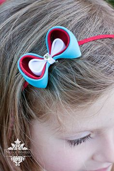Hair bow redefined, and looks easy enough to DIY.