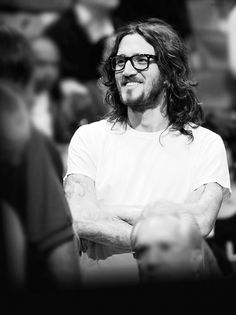 John Frusciante.To see this guy play guitar is the most insane and amazing thing in the world, his passion and true love for music just flows through him.Amazing guitarist.