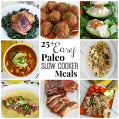 Easy Paleo Slow Cooker Meals | Rubies & Radishes