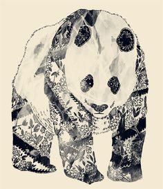 Tattooed Panda