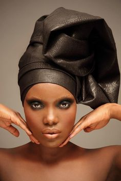 Master class of beauty and Headwraping