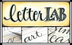 elvi studio, labs, art journal, art blog, monday, font, lettering styles, letters, hand lettering