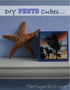 DIY Photo Cubes! ~ from TheFrugalGirls.com {these are SO simple to make, and make fabulous gifts!} #photo #crafts