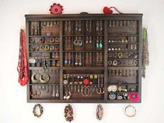 Great way to Organize Jewelry