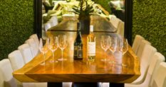 Vin De Syrah - Wine Tastings Our wine tastings are held every Friday & Saturday from 8-9 p.m. The cost is $35 per person + tax and gratuity, which includes three full glasses of wine and three hand selected food pairings. This is not your average wine tasting…