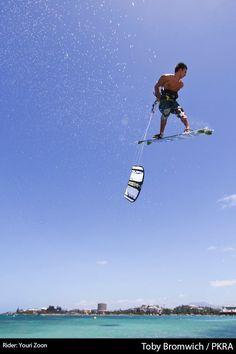 Youri Zoon, kitesurf