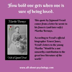 Sigmund Freud the incurable romantic.  #SigmundFreud #ValentinesDay #psychology