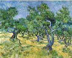 Olive Grove ~ Vincent van Gogh