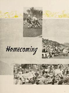 Athena Yearbook, 1957. Ohio University Homecoming 1956, celebrations and football. ::  Ohio University Archives