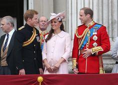 Kate Middleton's best pregnant moments.