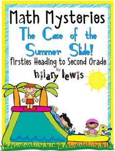 This math mystery is a fun way for 1st graders who are heading to 2nd grade, to practice doing a variety of word problems in a unique way.Kids ...