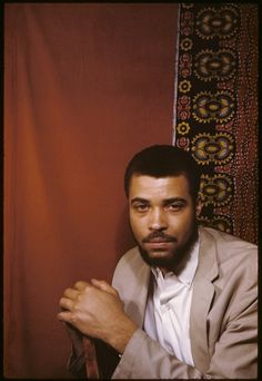 James Earl Jones, May 29, 1961    James was hawt!
