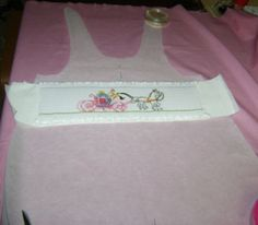 Maggie B's method to putting a pre-smocked insert into any pattern.