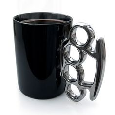 Knuckle Duster MUG! Black, $12, now featured on Fab.