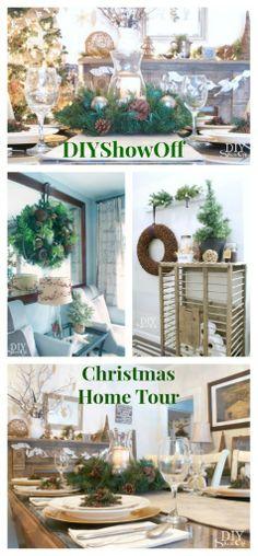DIYShowOff Christmas Home Tour 2013 @DIY Show Off