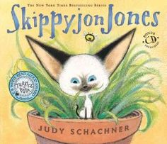 May 5, 2014. Skippyjon Jones is a Siamese cat with an overactive imagination who would rather be El Skippito, his Zorro-like alter ego.