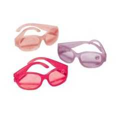 Barbie Party Supplies - Glitter Sunglasses at Total Birthday