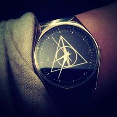 Deathly Hallows watch... I seriously have never wanted a watch more.