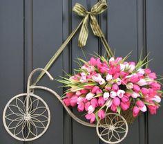 . door hanger, front door, door dress, door decor