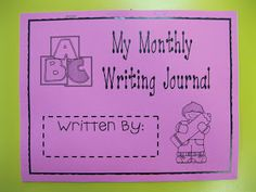 Kindergarten Rocks!: Monthly Writing Journals...Here!