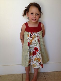 Poppy dress featuring Honeycrisp by Dear Stella