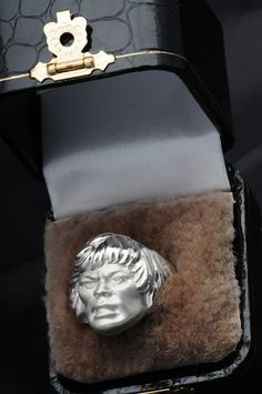 Solid Silver He-Man ring