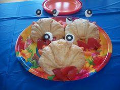 Crabby sandwiches