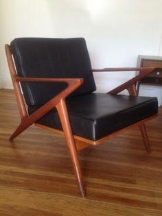 Los Angeles: Danish Selig Z vintage chair  $600 - http://furnishlyst.com/listings/252146