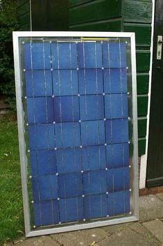 DIY home solar panel
