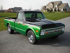 Chevrolet : C-10 2 door 1968 Custom Chrevolet C-10 - http://www.legendaryfinds.com/chevrolet-c-10-2-door-1968-custom-chrevolet-c-10/