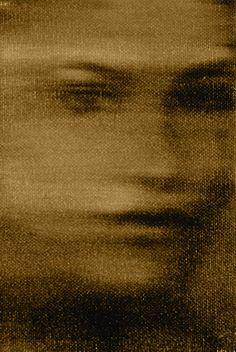 Face, oil on canvas, 1984, Alison Van Pelt