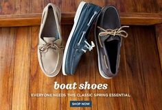 Boat shoes classic
