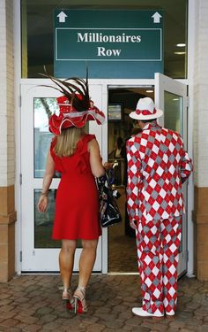 Kentucky Derby race fans, 5/5/12