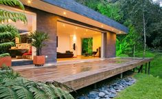 "House ""Lago en el Cielo"" / David Ramirez | ArchDaily modern house design, interior design, design homes, home interiors, architectur, lago en, living room designs, wood decks, el cielo"