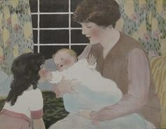 A Year Of Finding Love: The Sweet and Precious Art of Bessie Pease Gutmann...