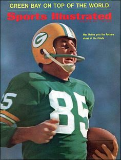 Max McGhee Sports Illustrated Cover, Super Bowl II. #nfl #vintage #packers