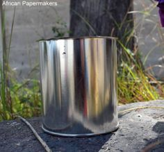 Multipurpose Tin Cans For Sale by AfricanPapermakers on Etsy, $3.00