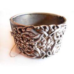 '40s Art Nouveau Cuff Bracelet, $80, now featured on Fab.