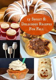 15 Sweet Recipes to Celebrate Fall - diycandy.com