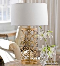 marrocan details in table lamp - just perfect lamp