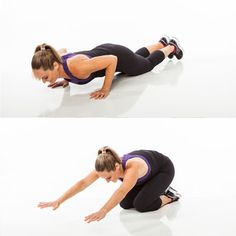 Get your cardio in without running or using a gym machine. Try the jumping pushup! http://www.shape.com/fitness/cardio/no-equipment-cardio-workout?page=7
