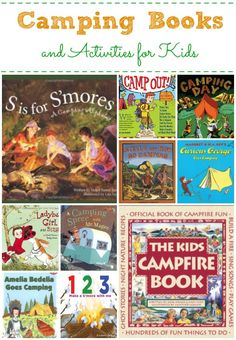Books About Camping for Kids #learning #ece #kids