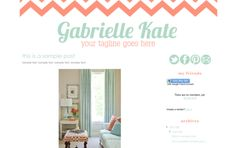tons of cute Premade Blogger Template Designs