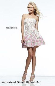 Sherri Hill Prom Dress 11053 #sherrihill #prom2014 #promdresses prom dresses prom dresses